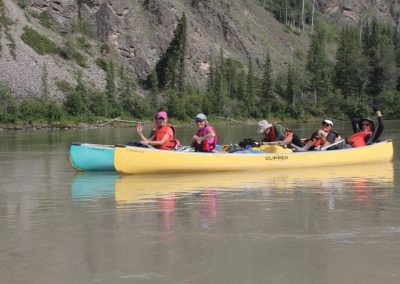 guided canoe trips in BC & the Yukon